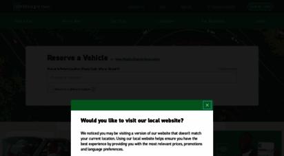 enterprise.co.uk - car hire  free pick up and  off  enterprise rent-a-car