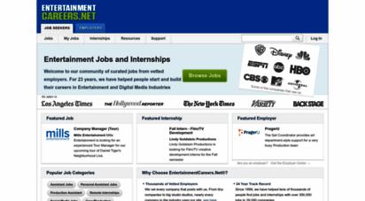 similar web sites like entertainmentcareers.net