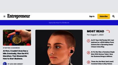 entrepreneur.com - entrepreneur - start, run and grow your business.