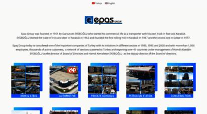 epasgrup.com - epaş grup kurumsal