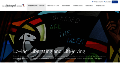 episcopalchurch.org - the episcopal church  welcomes you