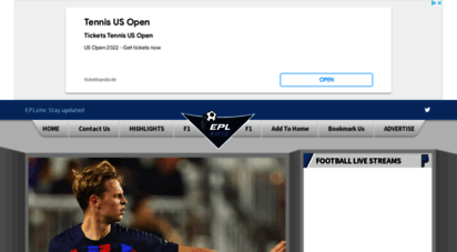 eplsite.football - watch live premier league football streaming online for free : iraqgoals