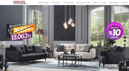 ergul.com.tr - ergül mobilya - yeni neslin tercihi