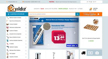 eryildiz.net - eryıldız hırdavat  en uygun online hırdavat dükkanı burada