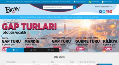 escantur.com - escan tur seyahat acentası izmir/termal tur-karadeniz turu-gap turu