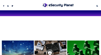 esecurityplanet.com - esecurity planet: internet security for it professionals