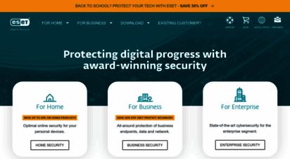 eset.com - malware protection & internet security  eset
