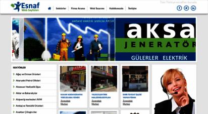 esnafwebsayfalari.com - - esnaf web sayfaları