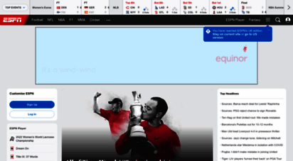 espn.co.uk - espn: serving sports fans. anytime. any.