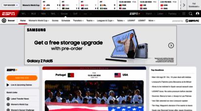 espnfc.com - football news and scores - espn fc