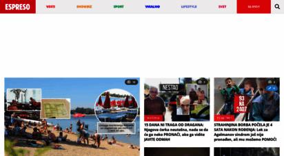 espreso.rs - espreso vesti dana. news portal.