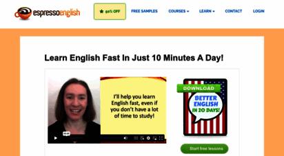 espressoenglish.net - espresso english - everyday english lessons