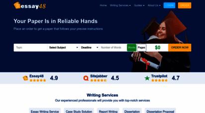 essay48.com - essay48 - essay writing help starting at $15