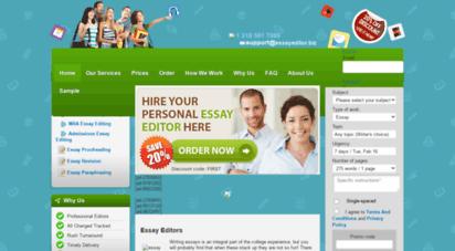 essayeditor.biz - online essay editor