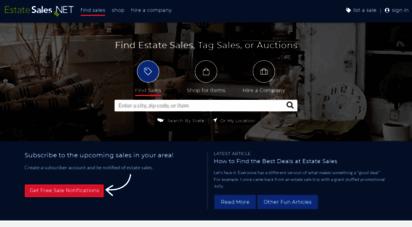 estatesales.net - find estate sales
