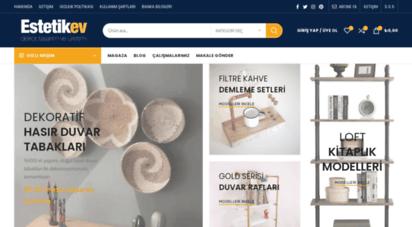 estetikev.net - estetikev  ev dekorasyonu, kendin yap ve geri dönüşüm fikirleri