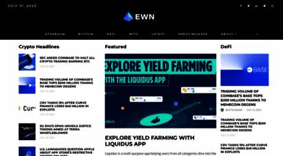 ethereumworldnews.com - ethereum, bitcoin & blockchain news - ethereum world news
