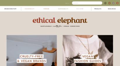ethicalelephant.com - ethical elephant  cruelty-free  vegan lifestyle blog