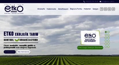 etko.com.tr - etko  ekolojik tarımsal kontrol organizasyonu