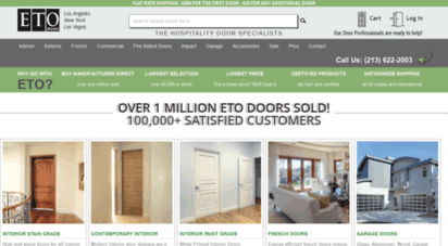 etodoors.com - shop exterior, interior, and prehung doors online  eto doors