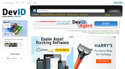 devid info free driver search and update utility