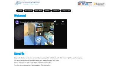Welcome to Eurocccamserver com - Best Cardsharing Service | CCcam