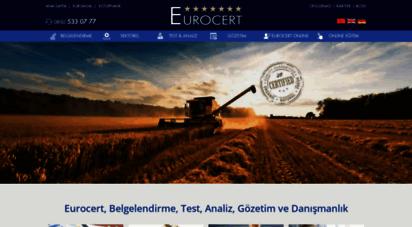 eurocert.com.tr - eurocert belgelendirme, gmp, haccp, globalgap, iso 22000 belgesi istanbul, izmir, antalya, ankara