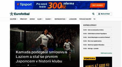 eurofotbal.cz - eurofotbal - fotbal online, evropský fotbal a fotbalové zprávy