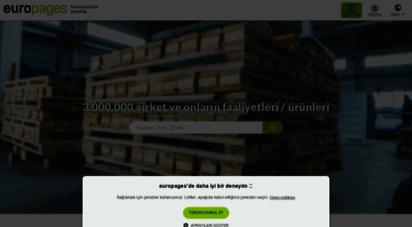 europages.com.tr - şirketleri, ürünleri ve uluslararası b2b hizmetlerini arayın - europages