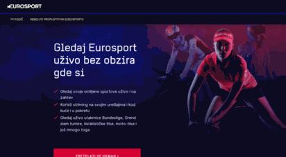 eurosport.rs - consumer site