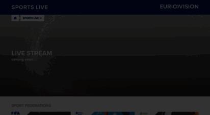 eurovisionsports.tv - eurovisionsports live