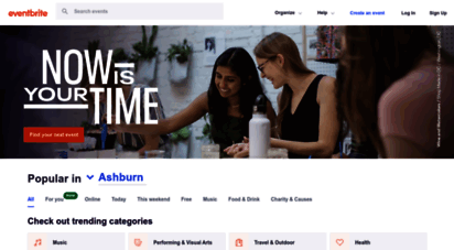 eventbrite.com - eventbrite - discover great events or create your own & sell tickets