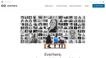 everhere.com - obituaries - where loved ones are eternal
