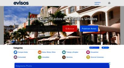 evisos.com - anuncios clasificados en estados unidos. avisos gratis evisos.