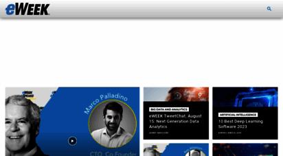 eweek.com - technology news, tech product reviews, research and enterprise anlysis - eweek.com