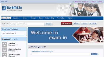 exams.in - exam s - india´s 1 exam alert portal