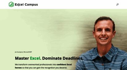 excelcampus.com - home - excel campus