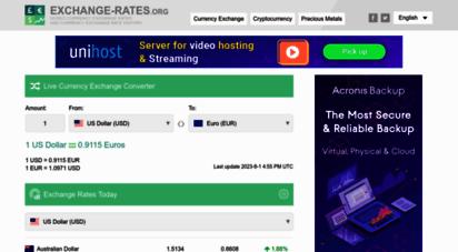 exchange-rates.org - exchange rates