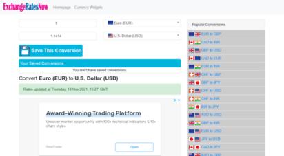 exchangeratesnow.com - exchange rates now