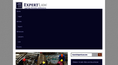 expertlaw.com - expertlaw  legal help, information, and resources