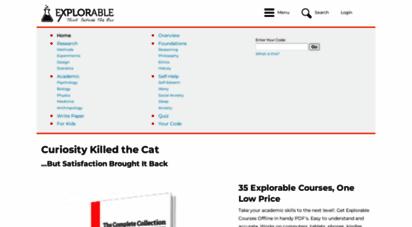 explorable.com -