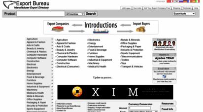 exportbureau.com