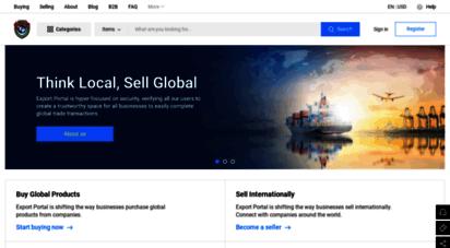 exportportal.com - export portal - online trading website with buyer protection