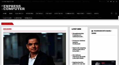 expresscomputer.in - latest technology it news, tech news, enterprise it & cio - express computer