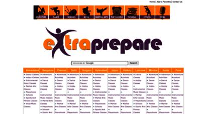extraprepare.com - extraprepare - education. fun. and everything else