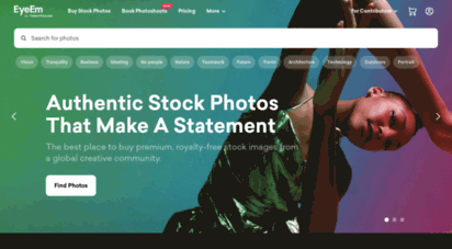eyeem.com - eyeem. source advertising photography from 20m creators.