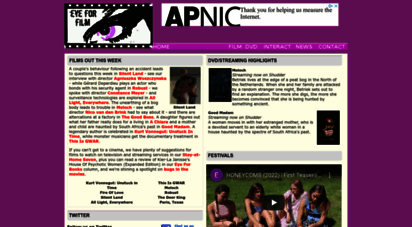 eyeforfilm.co.uk - eye for film: film reviews, movie news and dvd coverage