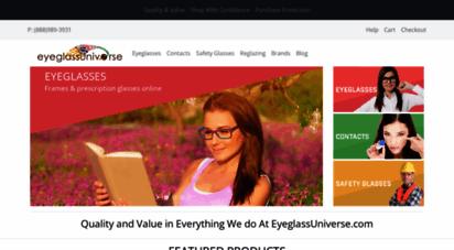 eyeglassuniverse.com - quality and value in online prescription eyeglsss  eyeglassuniverse