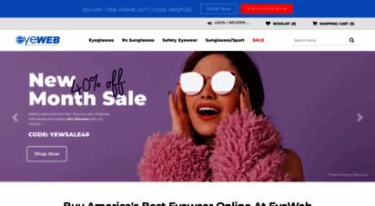 eyeweb.com - eyeglsss online  buying prescription glsss online