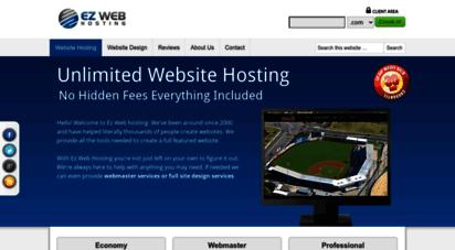 ez-web-hosting.com - unlimited website hosting  ez web hosting official site
